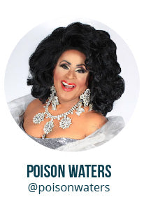 Virtual Drag Queen Bingo with Poison Waters