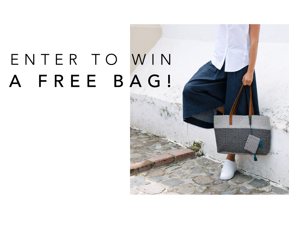 Take our survey and enter to win a free bag form Mercado Global