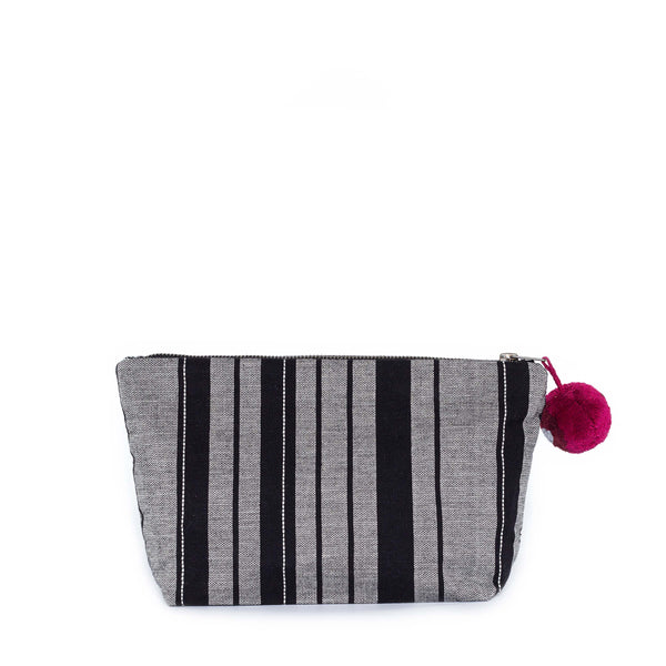 Hand woven Cristina Travel Cosmetic Pouch - Ethical Shopping at Mercado Global