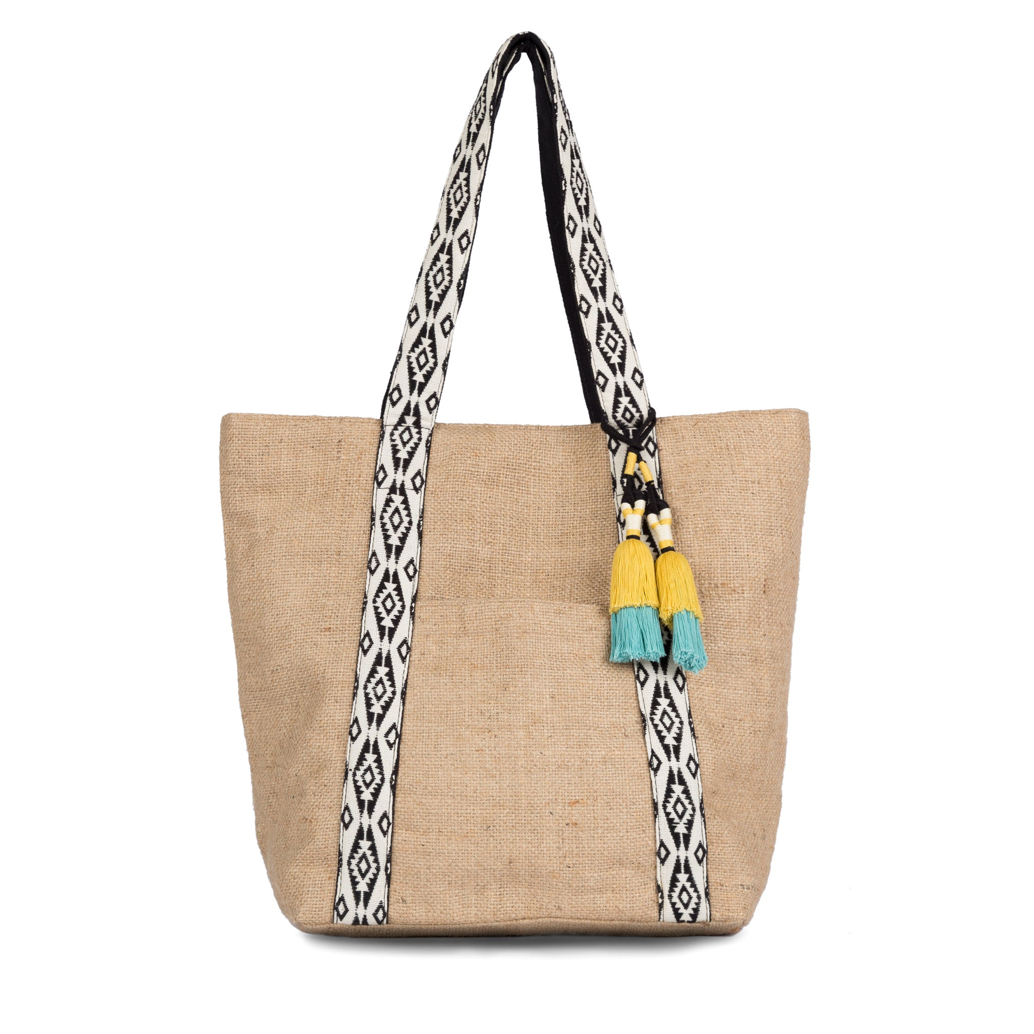 Hand woven Eva Tote - Ethical Shopping at Mercado Global