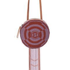 Hand woven Rosetta Amulet Bag - Ethical Shopping at Mercado Global