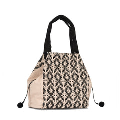 Hand woven Rosa Tote - Ethical Shopping at Mercado Global