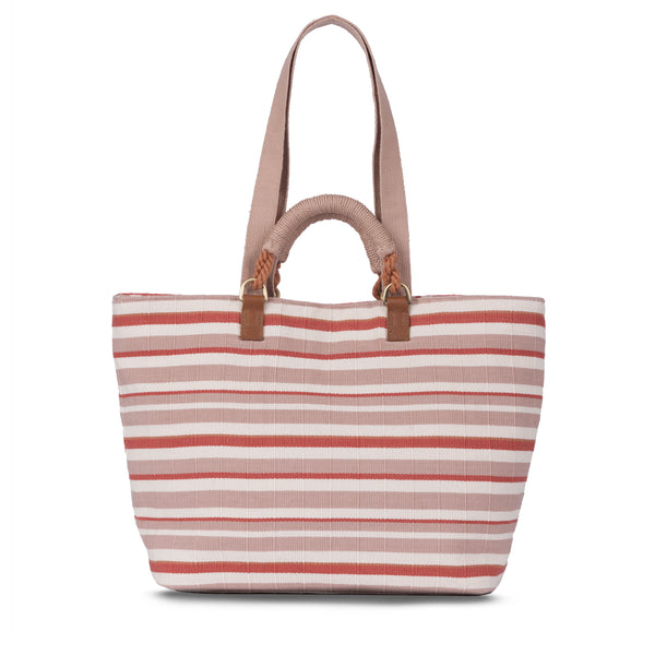 Hand woven Dominga Tote - Ethical Shopping at Mercado Global