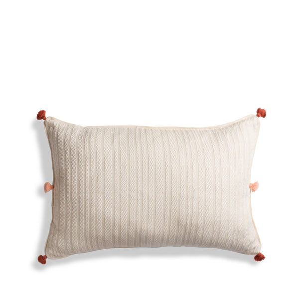 Hand woven Large Lumbar Pillow - Ethical Shopping at Mercado Global