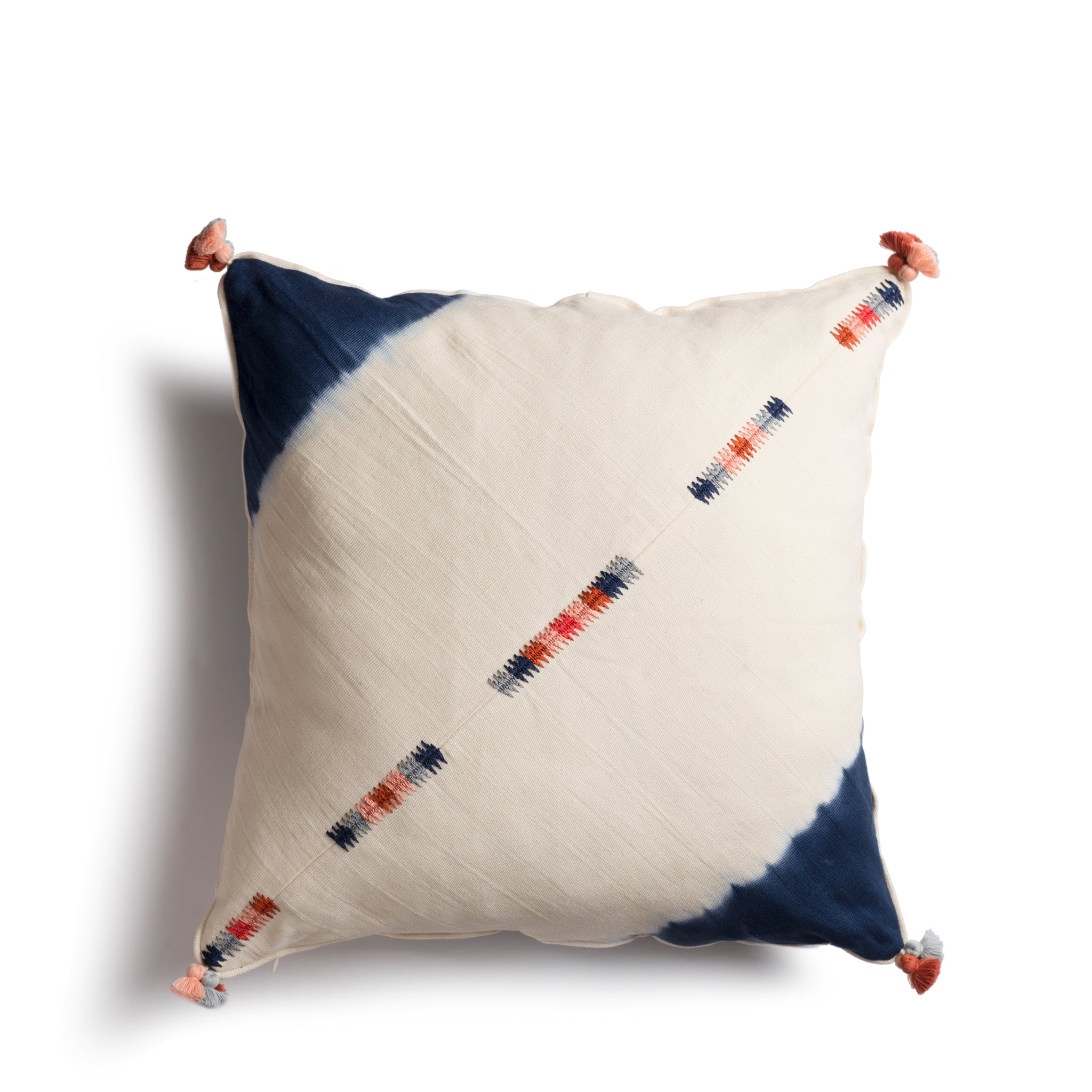"Hand woven 20"" Square Pillow - Ethical Shopping at Mercado Global"