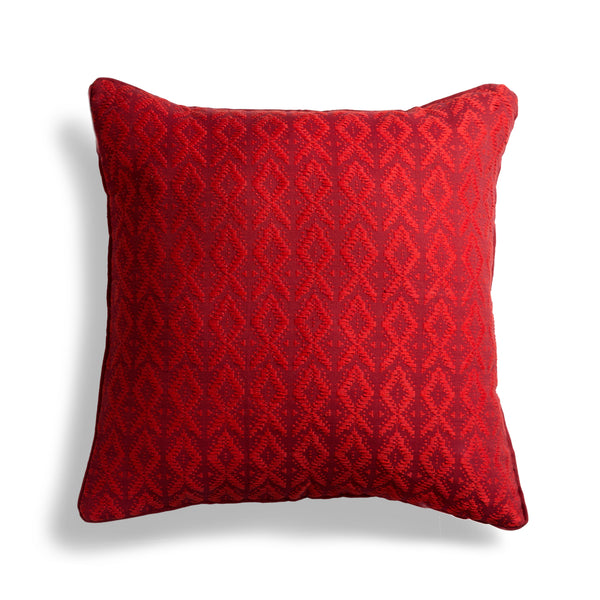 "Hand woven 24"" Square Pillow - Ethical Shopping at Mercado Global"