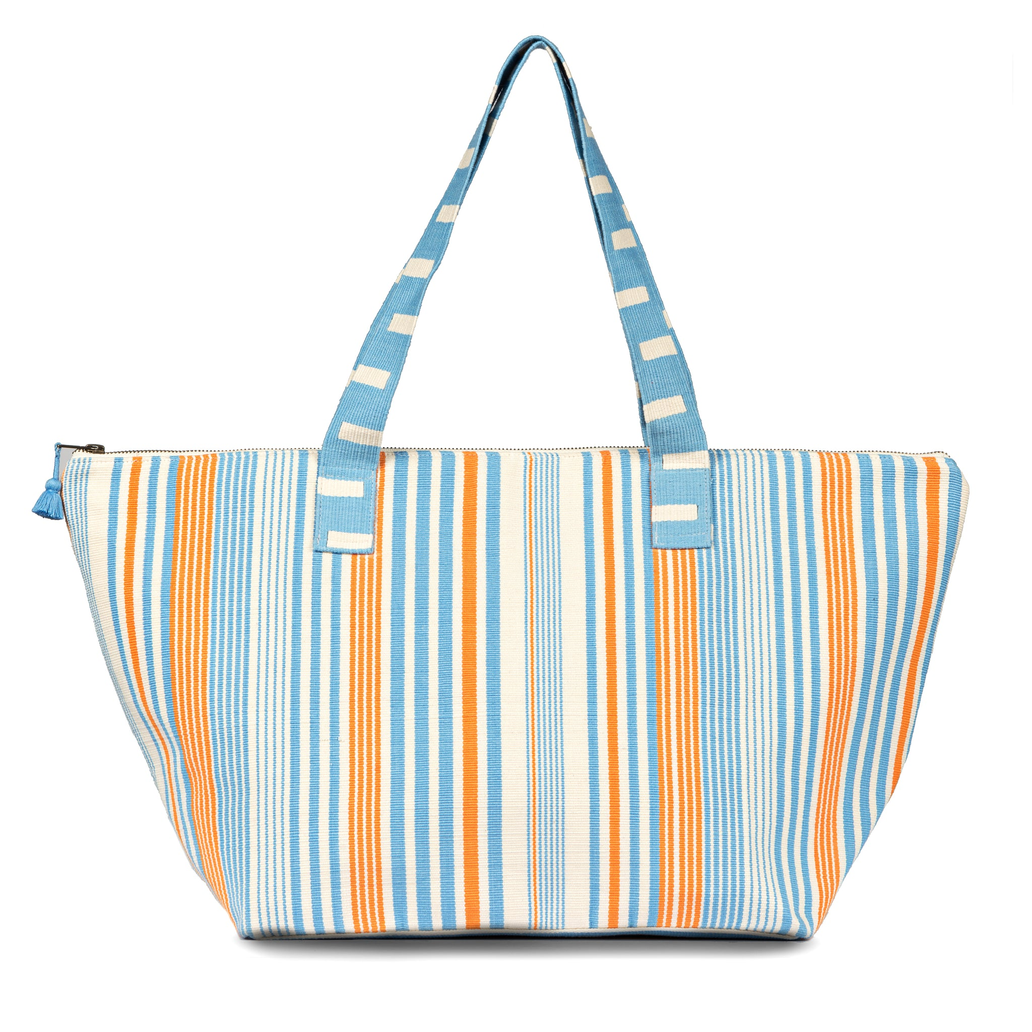 Hand woven Iris Duffle - Ethical Shopping at Mercado Global