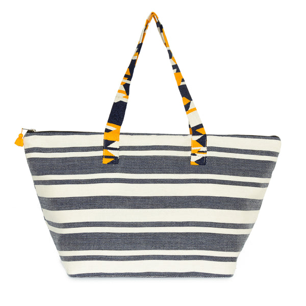 Hand woven Iris Weekender - Ethical Shopping at Mercado Global