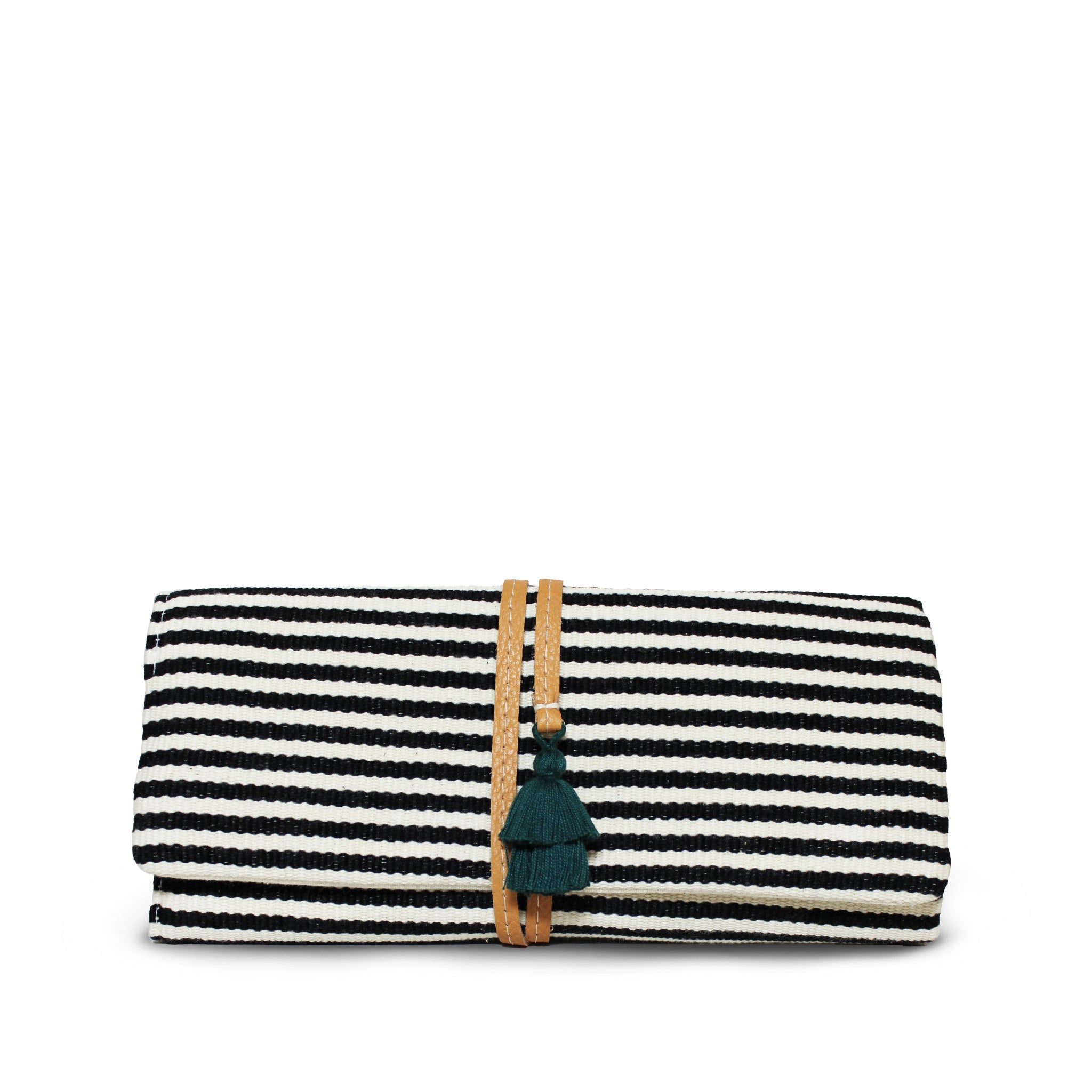 Hand woven Lilia Jewelry Roll - Ethical Shopping at Mercado Global