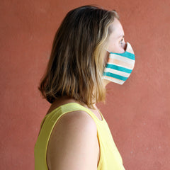 Personal Mask for Brazil in Peach Tree