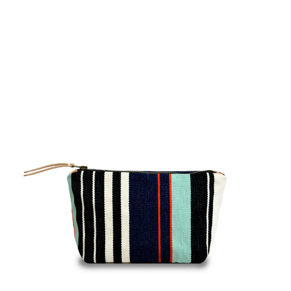 Hand woven IWD Mini Cristina Cosmetic Pouch - Ethical Shopping at Mercado Global