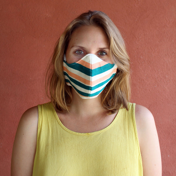 Personal Mask for Brazil <br/> in Peach Tree