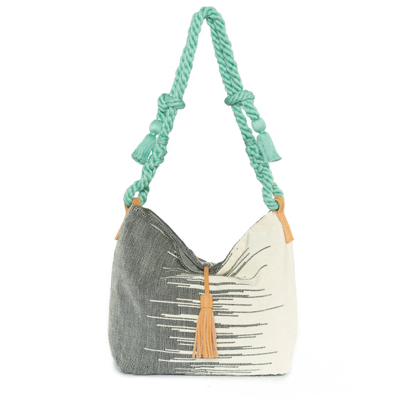 Hand woven Rafaella Hobo - Ethical Shopping at Mercado Global