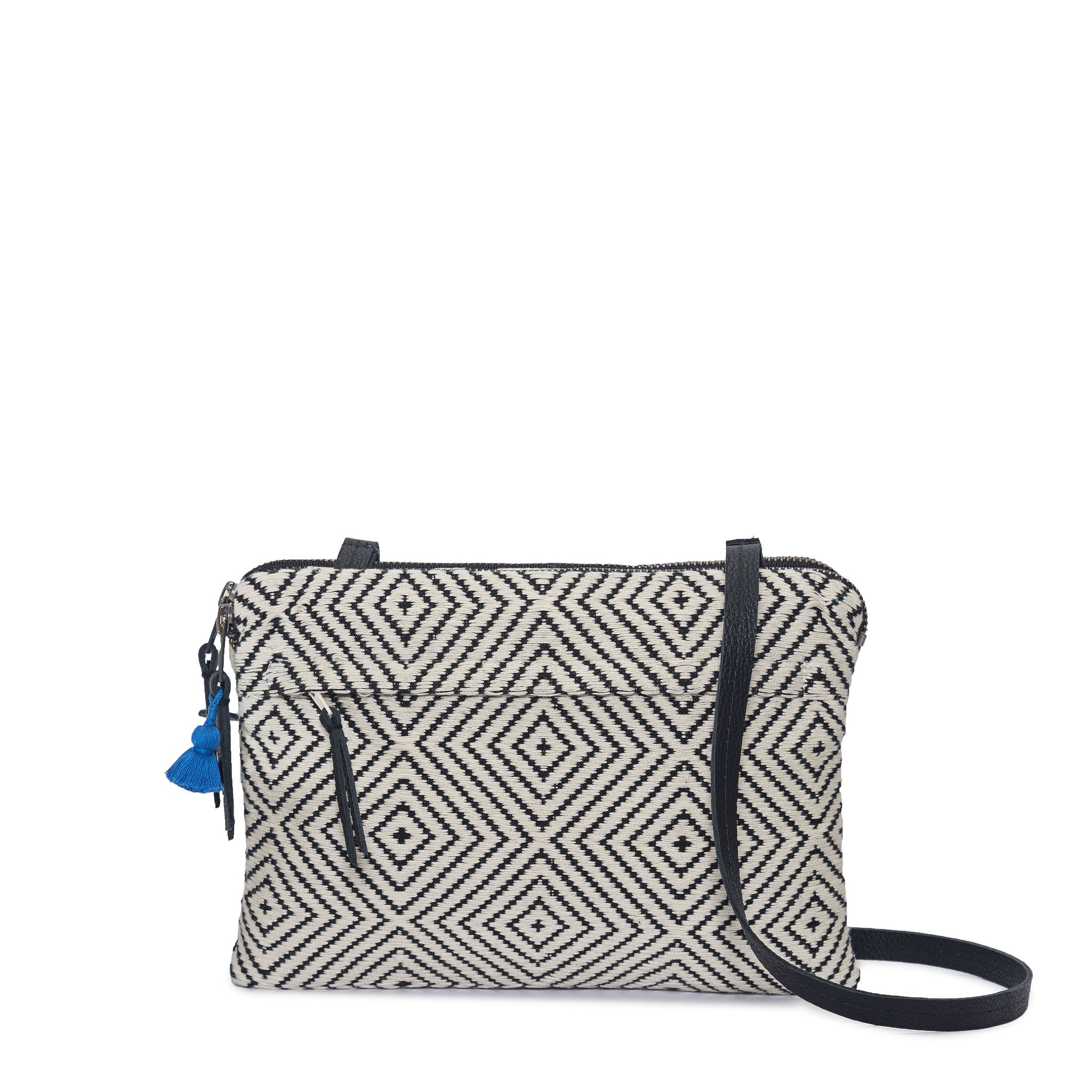 Hand woven Miriam Crossbody - Ethical Shopping at Mercado Global
