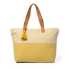 Hand woven Estella Tote with Zipper Closure - Ethical Shopping at Mercado Global
