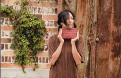 Hand woven Talia Wristlet Wallet - Ethical Shopping at Mercado Global