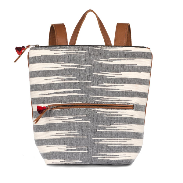 Hand woven Lorena Backpack - Ethical Shopping at Mercado Global