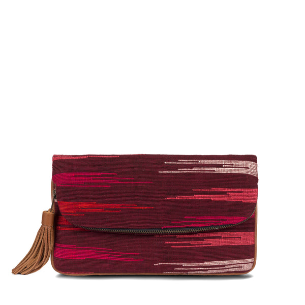 Hand woven Paulina Clutch - Ethical Shopping at Mercado Global