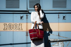 Hand woven Emilia Tote - Ethical Shopping at Mercado Global