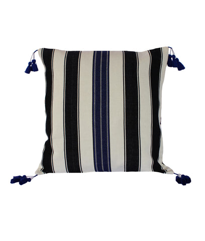 Hand woven Agua Pillow - Ethical Shopping at Mercado Global
