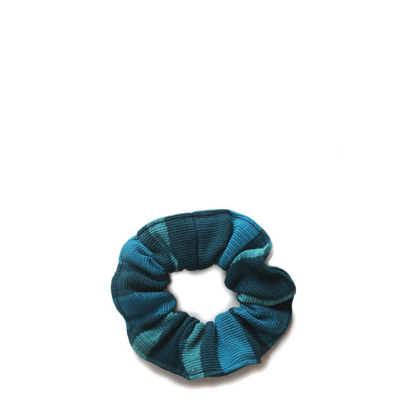 Carmen Scrunchie<br/> in Peacock Blue