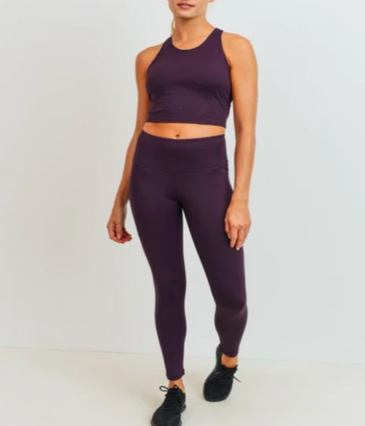 Bellflower Racerback Crop