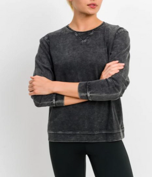Lobelia Mineral Wash Long Sleeve
