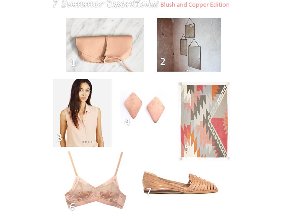 Blush & Copper Ethical Home Decor