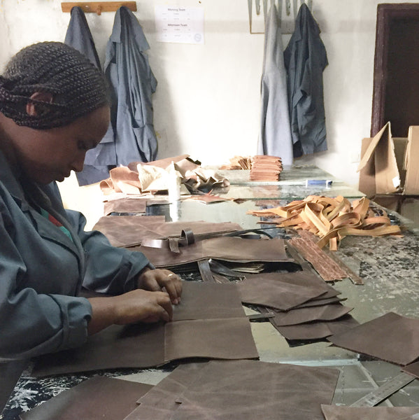 Fair Trade Leather Worker