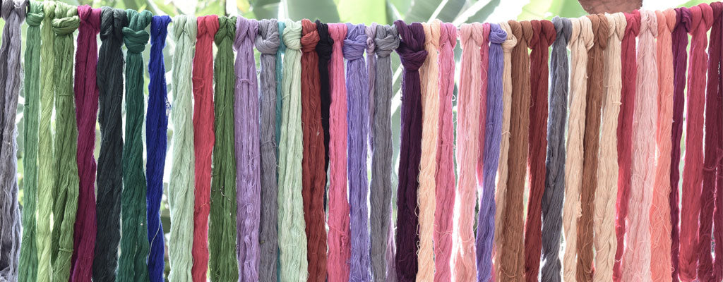 Guatemalan Botanically dyed thread