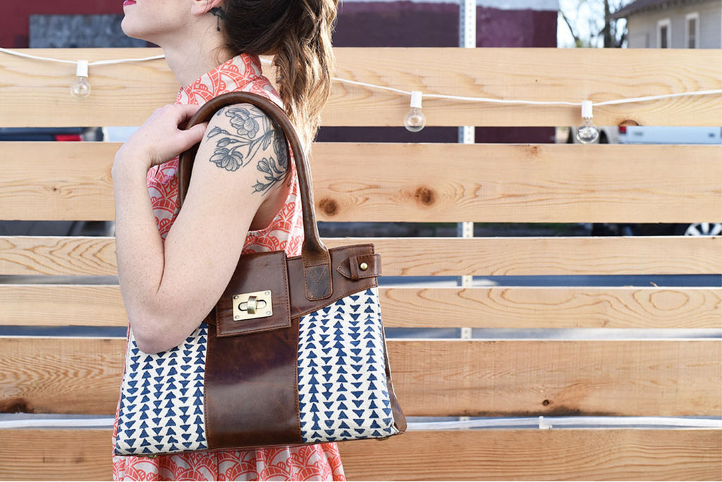 Fair Trade Block Print Handbag