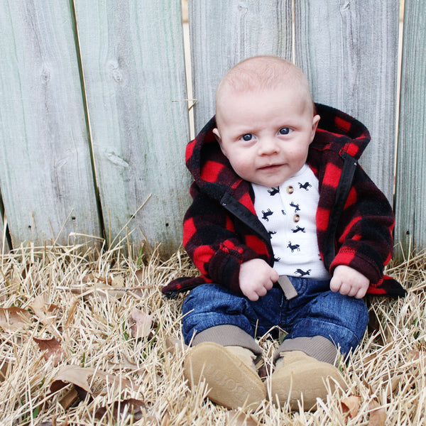 Buffalo Plaid Baby Wear