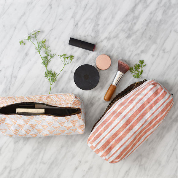 Make Up Bags as Bridesmaid Gifts