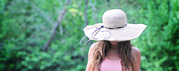 Fair Trade Raffia Beach Hat