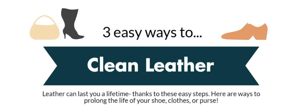 3 Ways to Care for Leather