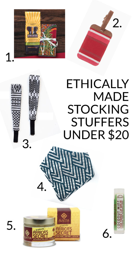 Ethically Made Stocking Stuffers Under $20