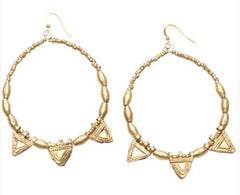 raven and lily gold earrings