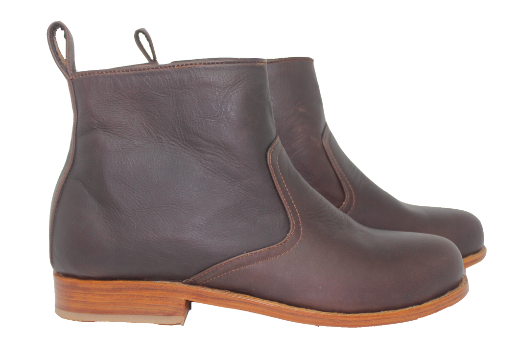 Women's Leather Botine