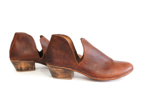 Brown Leather Vaquera
