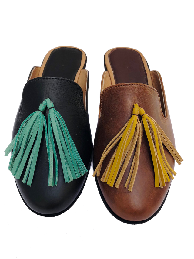 Choose Your Tassel Color Amor Slide