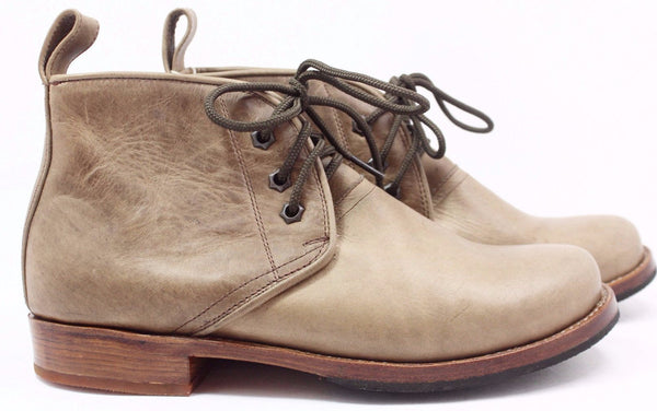 All Leather Chukka