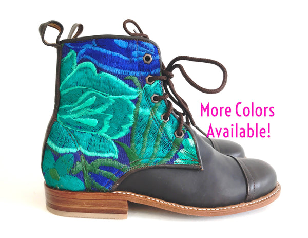 Favorite Floral Peace Boot