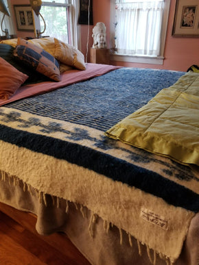 Cozy Mountain Wool Blanket