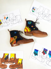 Load image into Gallery viewer, Embroidered Dream Boots - Trailblazer Collaboration