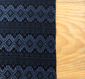 Metallic Blue Table Runner