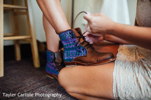 Customized Wedding Boots