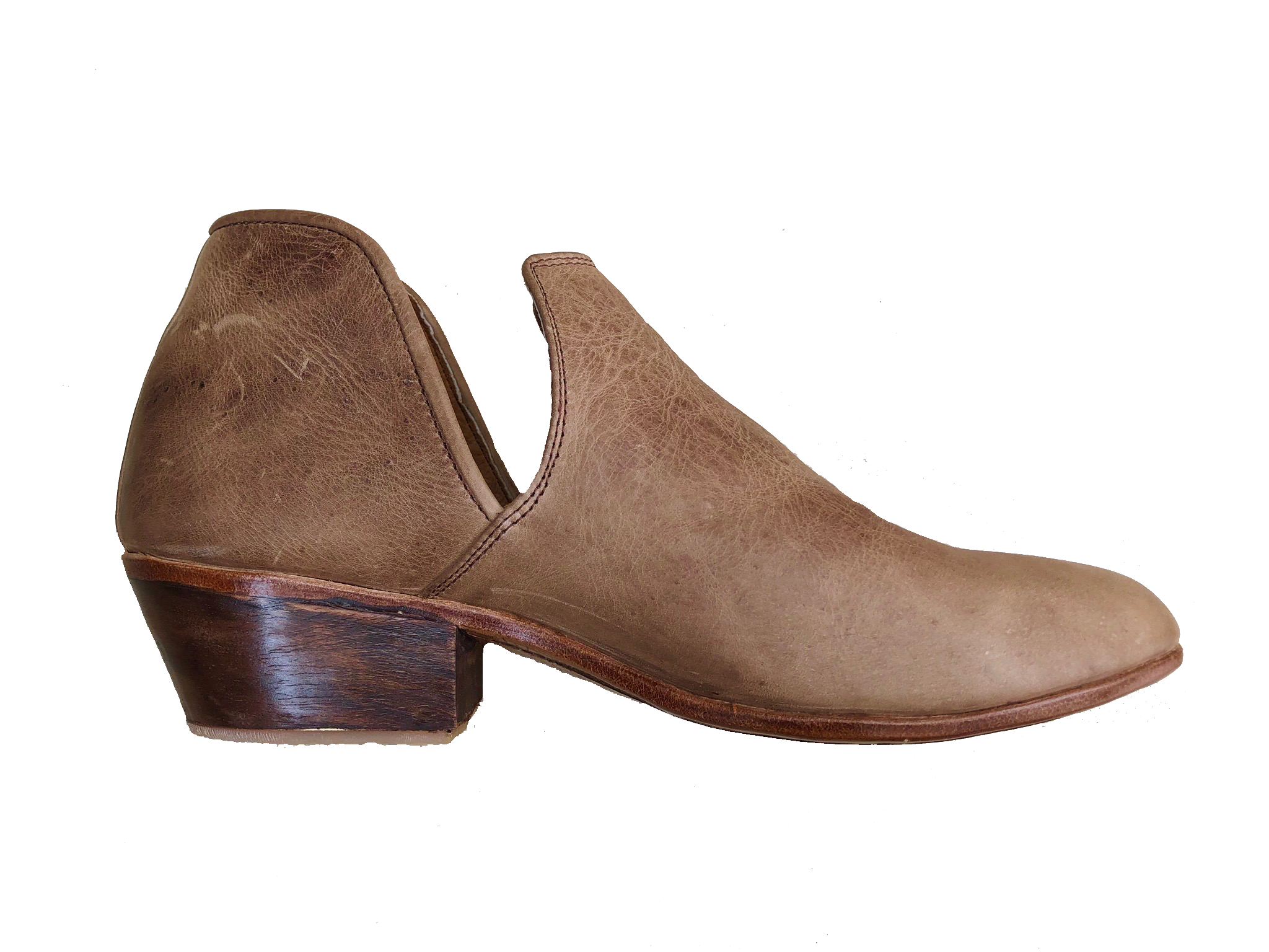 Light Brown Leather Vaquera
