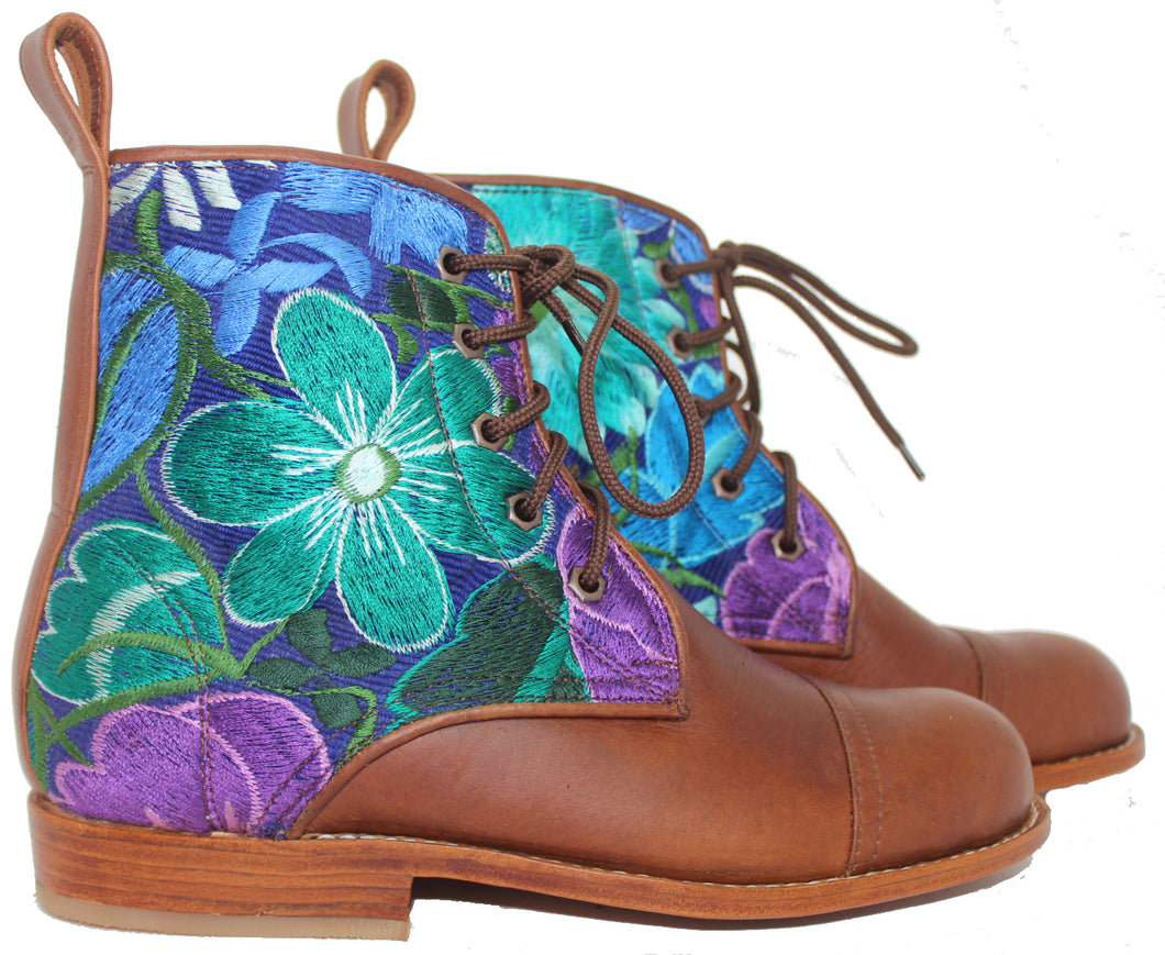 Flower Power Peace Boot