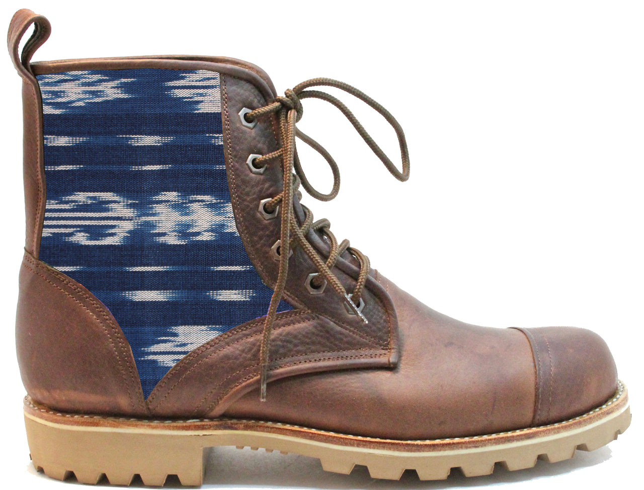 Blue Ikat Summit Boot