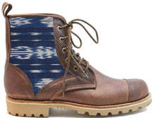 Load image into Gallery viewer, Men's Blue Ikat Summit Boot